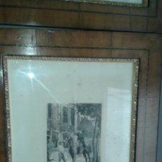 Arte: GRABADO ORIGINAL DE J.L. MEISSONIER ( EXPOSITION MEISSONIER, 1893). Lote 204737650