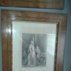 Arte: GRABADO ORIGINAL DE J.L. MEISSONIER (EXPOSITION MEISSONIER, 1893). Lote 204737678