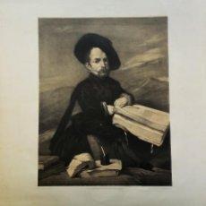 Arte: TRES GRABADOS DE LA BIBLIOTECA NACIONAL DE ESPAÑA, S. XIX. Lote 205056187