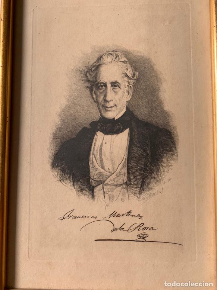 Arte: Colección de grabados firmados por B Maura . A modo de retratos todos firmados entre 1880 y 1885 - Foto 3 - 205366563