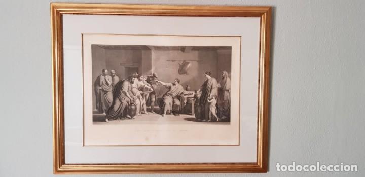 GRABADO NEOCLÁSICO. (Arte - Grabados - Antiguos hasta el siglo XVIII)