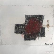 Arte: GRABADO DE ANTONI TÀPIES - NUMERADO Y FIRMADO A LÁPIZ. Lote 205530297