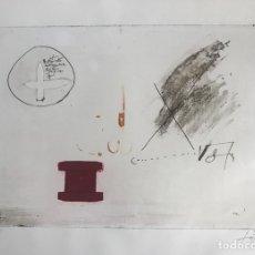 Arte: GRABADO DE ANTONI TÀPIES - NUMERADO Y FIRMADO A LÁPIZ. Lote 205531350