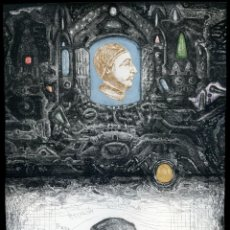 Arte: ARIEL KOFMAN. AMALGAMA GRÁFICA CONTEMPORÁNEA II, 2019. CALCOGRAFÍA. Lote 205536735