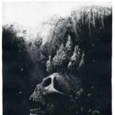 Arte: ELIEZER MAYOR HERNÁNDEZ. AMALGAMA GRÁFICA CONTEMPORÁNEA II, 2019. CALCOGRAFÍA. Lote 205537502