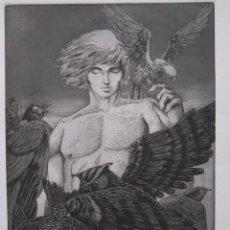 Arte: ALBERTO SOLSONA: AGUAFUERTE PARA LOS POEMAS DE WALT WHITMAN. NÚMERO XXIV/25. Lote 205567472