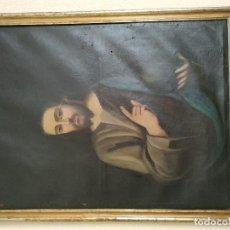 Arte: SAGRADO CORAZON DE JESUS PINTURA SIGLO XVII/XVIII. Lote 205681876