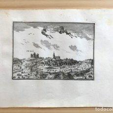Arte: GRABADO ANTIGUO SIGLO XVII CAMP DE LES BORGES BORJAS DEL CAMPO BEAULIEU 1647 TARRAGONA CATALUÑA. Lote 205691658