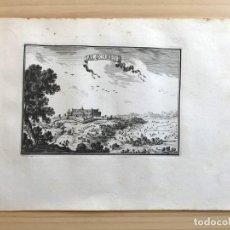Arte: GRABADO ANTIGUO SIGLO XVII ALGOIRE ALGUAIRE [1660] BEAULIEU LLEIDA LÉRIDA CATALUÑA. Lote 205693917