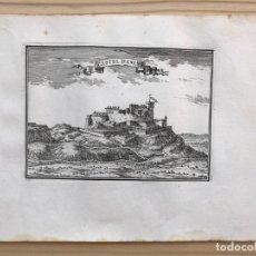 Arte: GRABADO ANTIGUO SIGLO XVII CASTELL DASENS CASTELLDÁNS [1660] BEAULIEU LLEIDA LÉRIDA CATALUÑA. Lote 205694636