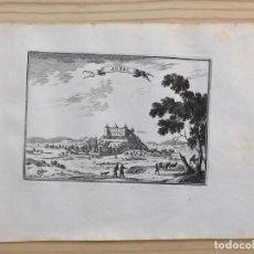 Arte: GRABADO ANTIGUO SIGLO XVII ARBEC ARBECA [1660] BEAULIEU LLEIDA LÉRIDA CATALUÑA. Lote 205697995