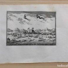 Arte: GRABADO ANTIGUO SIGLO XVII LA TOURDANBARE TORREDENBARRA [1660] BEAULIEU TARRAGONA CATALUÑA. Lote 205698278