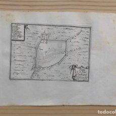 Arte: GRABADO ANTIGUO SIGLO XVII PLAN DE LA TOUR D'AMBARE TORREDENBARRA [1660] BEAULIEU TARRAGONA CATALUÑA. Lote 205699517
