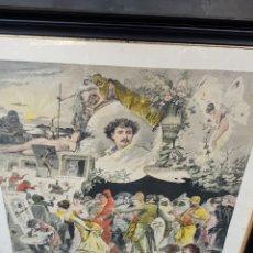 Arte: FORTUNY MARSAL, MARIANO (1838-1874) / GRABADO Y COLOREADO. Lote 205701476