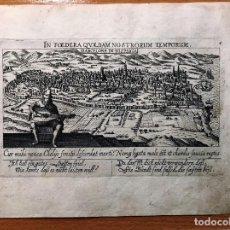 Arte: BARCELONA MEISNER, DANIEL, WECHTER II, GEORG, IN FOEDERA QVAEDAM NOSTRORUM TEMPORUM. 1ª EDICION. Lote 205713888
