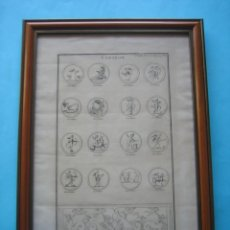 Arte: GRABADO SIGLO XVIII - CUPIDON - GORLAEUS - BOISSARD - PLANCHA 119 - OBRA FRANCESA DE 1722 - VER. Lote 205723407