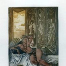 Arte: CELEDONIO PERELLÓN. GRABADO ORIGINAL. FIRMADO Y NUMERADO. 1989. Lote 205725630