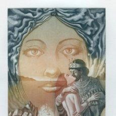 Arte: CELEDONIO PERELLÓN. GRABADO ORIGINAL. FIRMADO Y NUMERADO. 1989. Lote 205725693
