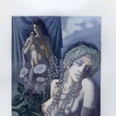 Arte: CELEDONIO PERELLÓN. GRABADO ORIGINAL. FIRMADO Y NUMERADO. 1989. Lote 205725898