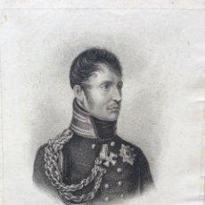Arte: WM. FREDK. KING OF PRUSSIA. 1814. EDITADO EN LONDON, 1814 POR COLNAGHI . RARO.. Lote 205769958