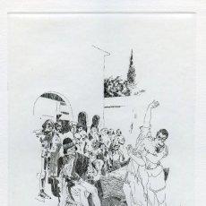 Arte: EBERHARD SCHOTTER. AGUAFUERTE ORIGINAL PARA EL DECAMERON. FIRMADO Y NUMERADO. Lote 205777923