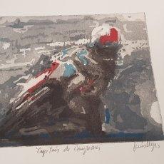 Arte: LLUIS LLOPIS.AGUATINTA AGUAFUERTE GRABADO.. Lote 206199023