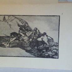 Arte: 33 GRABADOS -ESTAMPAS COLECCION ANTIGUO DE ARABES CON TOREROS CON CABALLOS GRABADO. Lote 206267547