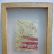 Arte: ABSTRACCIÓN. AÑO 1998. ROSA GUERRERO. Lote 206276637