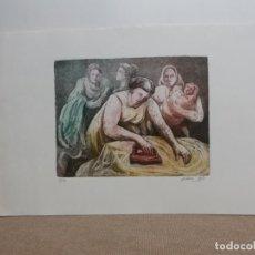 Arte: GRABADO GUERRA CALLE. Lote 206391186