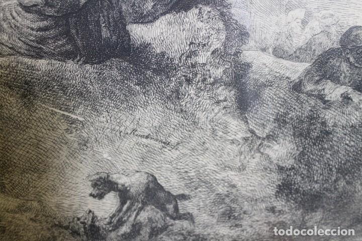 Arte: REMBRANT , JESUCRISTO PREDICANDO, S.XVII, FIRMADO - Foto 4 - 206503821