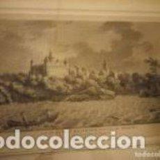 Arte: GRABADO GRAVÉ PAR DEQUEVAUVILLER VUE DE LA VILLE D´E STAVAYER CANTÓN DE FRIBOURG,SIGLO XIX. Lote 206507266