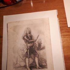 Arte: GRABADO DE SCHOMBRG ( CONDE DE FREDERIC ARMAND ) MARISCAL DE FRANCIA. Lote 207151758