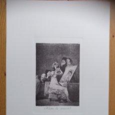 Arte: GRABADO ORIGINAL DE LOS CAPRICHOS DE GOYA. Lote 207237723