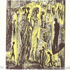 Arte: GRABADO BUENOS AIRES. FIRMADO A MANO RAUL CAPITANI. NUMERADA 48/200. EL TANGO. 1996.. Lote 207580780