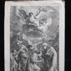Arte: GRABADO ANTIGUO AFTER G.B. PITTONI, DE FABIO BERARDI. Lote 207585545