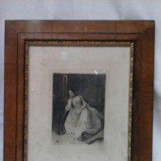 Arte: GRABADO ORIGINAL DE J.L.E. MEISSONIER RETRATO DE MME. SABATIER ( EXPOSITION MEISSONIER, 1893). Lote 204737616