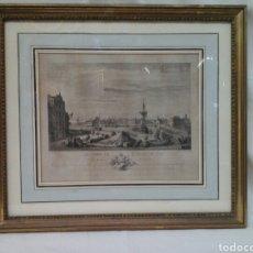 Arte: PUERTO DE SAN JUAN DE LUZ S.XVIII ( GRABADO 1788 ). Lote 207600983