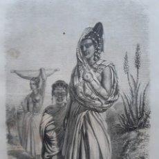 Arte: COLECCIÓN DE 40 GRABADOS DE 1863. Lote 207883838