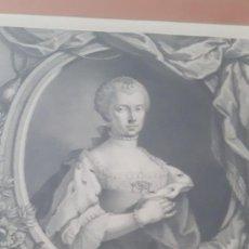 Arte: GRABADO XVIII MARÍA LUISA INFANTA DE ESPAÑA ARCHIDUQUESA DE AUSTRIA.. Lote 217651776