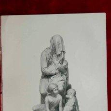 Arte: THE BASHFUL BEGGAR, ESCULTOR GANDOLPHI, GRABADO AL ACERO THE ART JOURNAL 1852. Lote 208350478