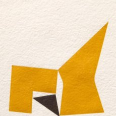Arte: ARTURO BONFANTI - 2.75 LITHOGRAPHIE - 1976. Lote 208355361