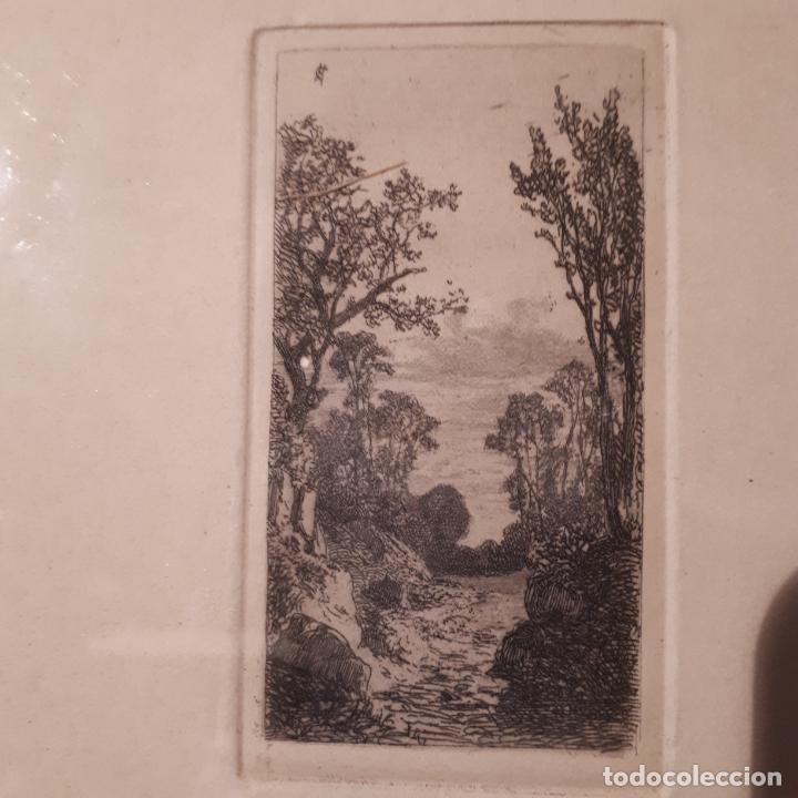 CARLOS DE HAES, GRABADO. (Arte - Grabados - Modernos siglo XIX)