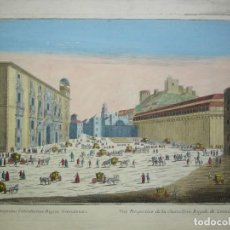Arte: VISTA DE GRANADA DEL SIGLO XVIIII. Lote 208680148