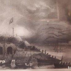 Arte: SAN SEBASTIÁN.GRABADO INGLES SIGLO XIX.. Lote 209344527