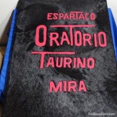 Arte: ESPARTACO, ORATORIO TAURINO.VICTOR MIRA.13 GRABADOS HECHOS A MANO.LIBRO EN PIEL DE TORO.. Lote 209384030