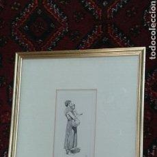 Arte: GRABADO ORIGINAL DE J.L. MEISSONIER (EXPOSITION MEISSONIER, 1893). Lote 209415938