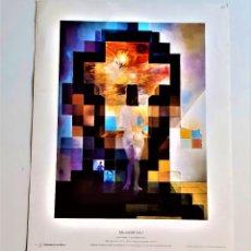 Arte: SALVADOR DALI - LAMINA GRABADO DEL ORIGINAL - 29.5 X 23.CM. Lote 209837845