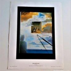 Arte: SALVADOR DALI - LAMINA GRABADO DEL ORIGINAL - 29.5 X 23.CM. Lote 209837971