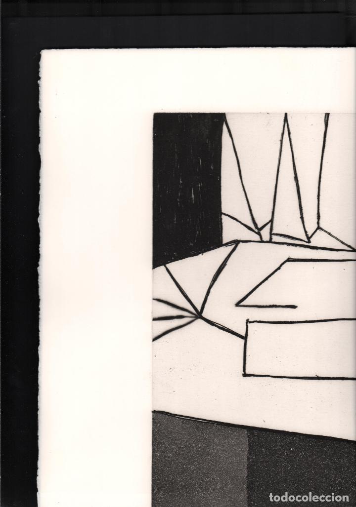 Arte: GARDY-ARTIGAS NATURALEZA MUERTA GRABADO ORIGINAL FIRMADO Y NUMERADO 72 / 75 A LÁPIZ ILUMINADO A MANO - Foto 13 - 210472637