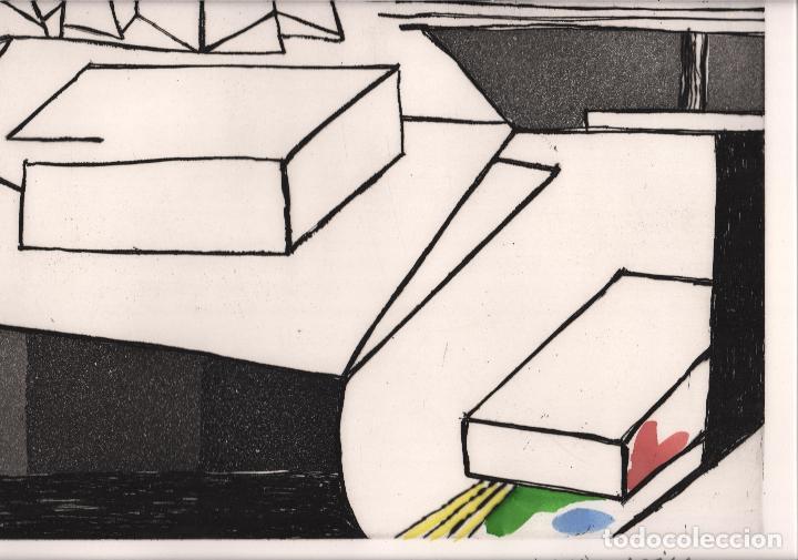 Arte: GARDY-ARTIGAS NATURALEZA MUERTA GRABADO ORIGINAL FIRMADO Y NUMERADO 72 / 75 A LÁPIZ ILUMINADO A MANO - Foto 16 - 210472637